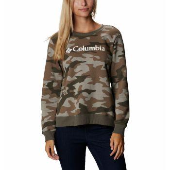 Columbia LOGO PRINTED CREW, pulover ž.poh, večbarvno
