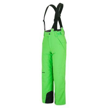 Ziener ANDO JUNIOR, otroške smučarske hlače, zelena