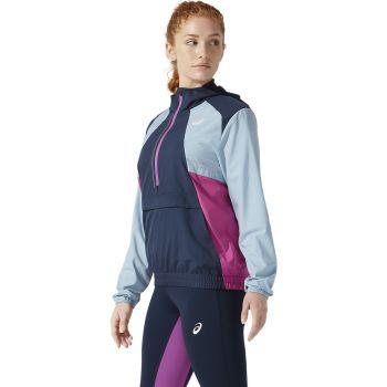 Asics VISIBILITY JACKET, ženska tekaška jakna, modra
