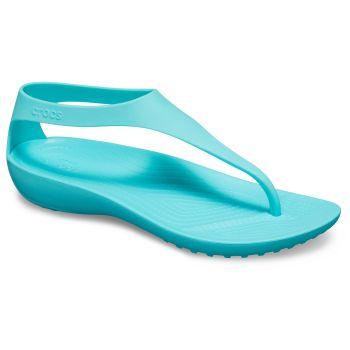 Crocs CROCS SERENA FLIP W, natikači ž.poletje, modra