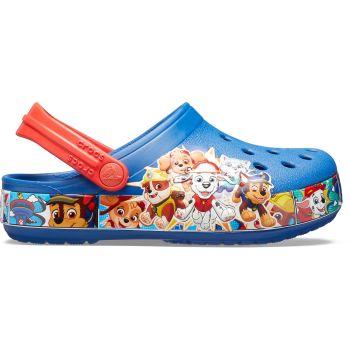 Crocs FL PAW PATROL BAND CLOG KIDS, natikači, modra