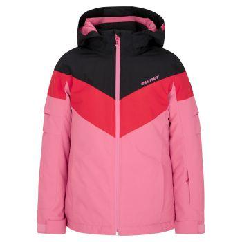 Ziener ALJA, otroška smučarska jakna, roza