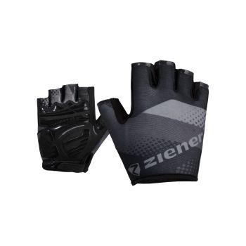 Ziener CONRADO, moške kolesarske rokavice, črna