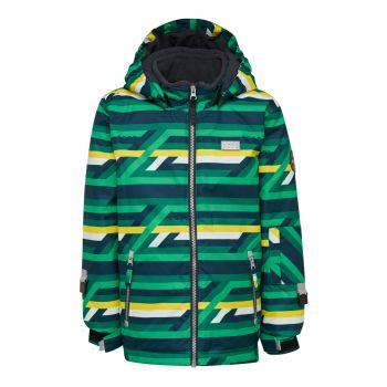 Lego Tec JORDAN 723, otroška smučarska jakna, zelena
