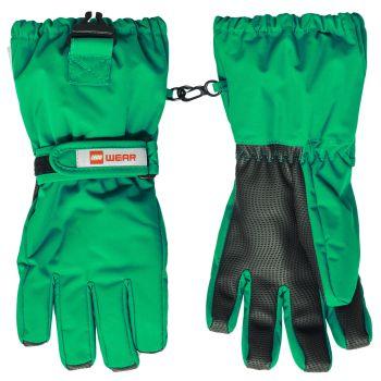 Lego Tec ALFRED 703, otroške smučarske rokavice, zelena