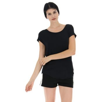 Lotto DINAMICO W IV TEE VI, ženska majica, črna
