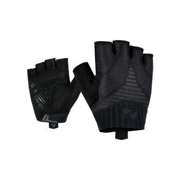 Ziener CENO, moške kolesarske rokavice, črna