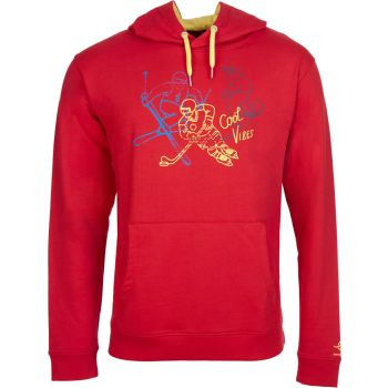 Energetics CHARLES 3, moški pulover, rdeča