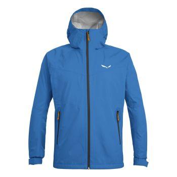 Salewa PUEZ AQUA 3 PTX M JKT, moška pohodna jakna, modra