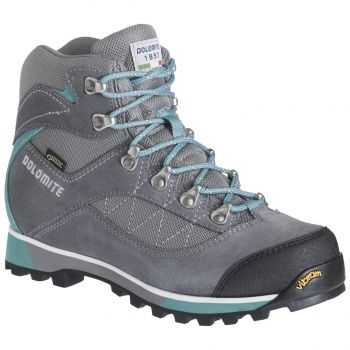 Dolomite ZERNEZ GTX W, ženski pohodni čevlji, siva