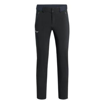 Salewa PEDROC 3 DST M REG PNT, moške pohodne hlače, črna