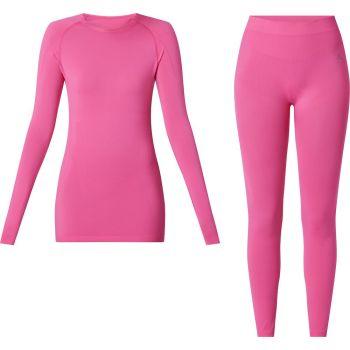 McKinley SET YALATA WMS/YADINA WMS, žensko perilo, roza