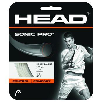 Head SONIC PRO, struna tenis, bela