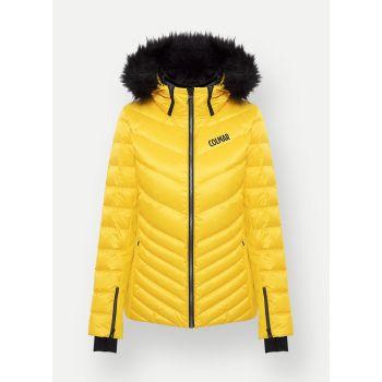 Colmar ANCOLIE, ženska smučarska jakna, rumena