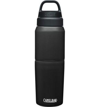 Camelbak MULTIBEV VACUUM INOX 0,5L/0,35L, steklenica termo, črna