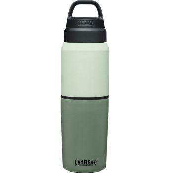 Camelbak MULTIBEV VACUUM INOX 0,5L/0,35L, steklenica termo, zelena