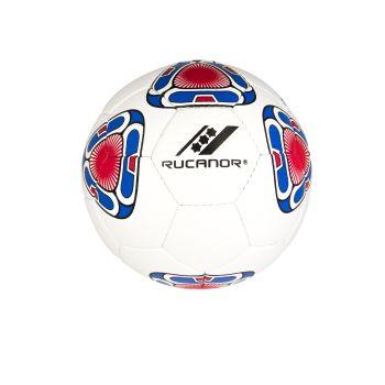 Rucanor IPANEMA III, žoga nogometna indoor, bela
