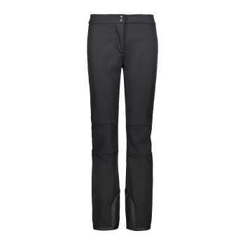 CMP WOMAN PANT WITH INNER GAITER, hlače, črna