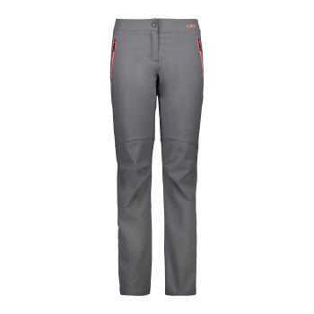 CMP WOMAN LONG PANT, ženske pohodne hlače, siva