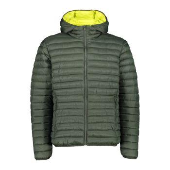 CMP MAN JACKET FIX HOOD, moška pohodna jakna, zelena