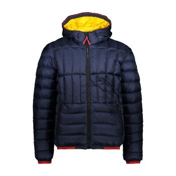 CMP MAN JACKET FIX HOOD, moška jakna, modra