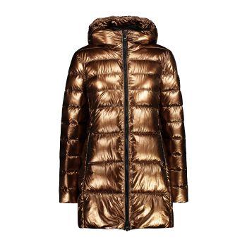 CMP WOMAN PARKA FIX HOOD, ženska jakna, rjava