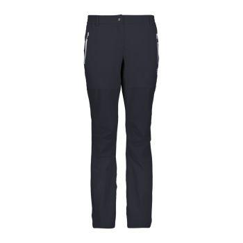 CMP WOMAN LONG PANT, ženske pohodne hlače, črna