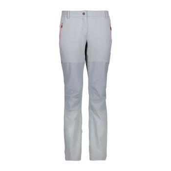 CMP WOMAN PANT LONG, ženske pohodne hlače, siva
