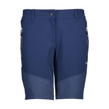 CMP WOMAN BERMUDA, hlače, modra