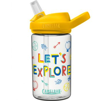 Camelbak EDDY+R KID'S 0,4L, steklenica, transparent