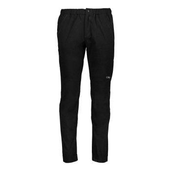 CMP MAN LONG PANT, moške pohodne hlače, črna
