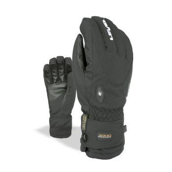 Level ALPINE, moške smučarske rokavice, črna