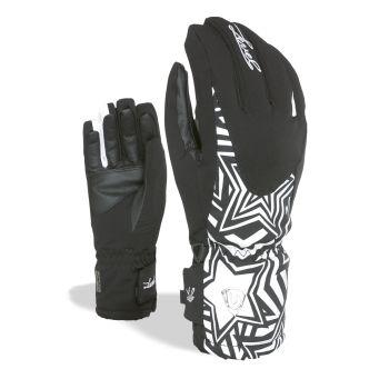 Level ALPINE W, ženske smučarske rokavice, črna
