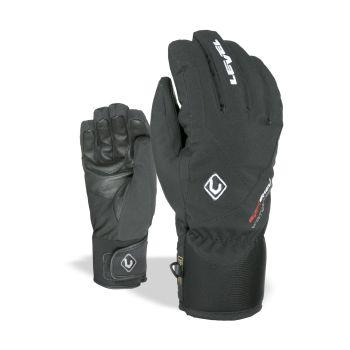 Level FORCE, moške smučarske rokavice, črna