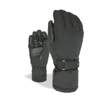Level HERO W, ženske smučarske rokavice, črna