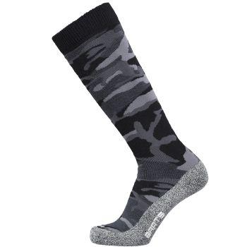 Barts SKISOCK CAMO, moške smučarske nogavice, črna