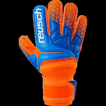 Reusch PRISMA PRIME S1 ROLL, moške nogometne rokavice, oranžna