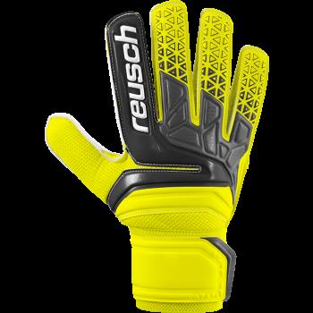 Reusch PRISMA SD, moške nogometne rokavice, črna