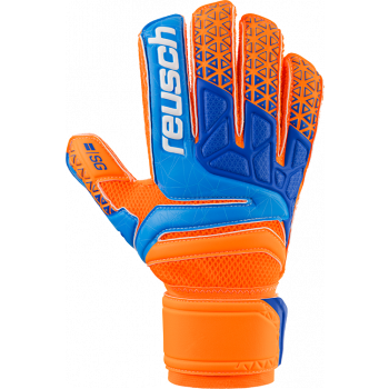Reusch PRISMA SG EXTRA, moške nogometne rokavice, oranžna