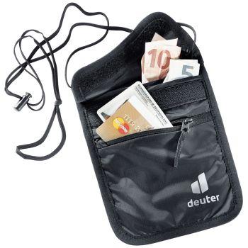 Deuter SECURITY WALLET II, torbica za denar, črna