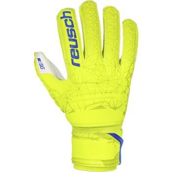 Reusch FIT CONTROL SG, moške nogometne rokavice, rumena