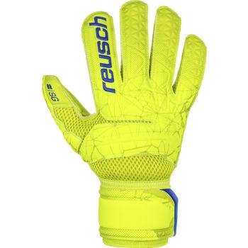 Reusch FIT CONTROL SG EXTRA, moške nogometne rokavice, rumena