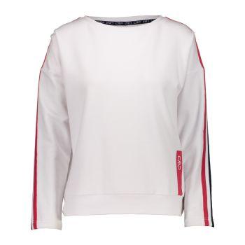 CMP WOMAN SWEAT, ženski pulover, bela