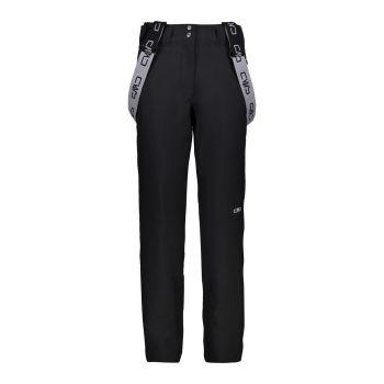 CMP WOMAN PANT, ženske smučarske hlače, črna