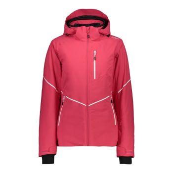 CMP WOMAN JACKET ZIP HOOD, ženska smučarska jakna, roza