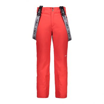 CMP MAN PANT, moške smučarske hlače, rdeča