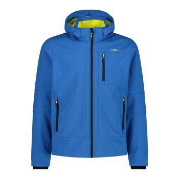 CMP MAN ZIP HOOD JACKET, moška pohodna jakna, modra