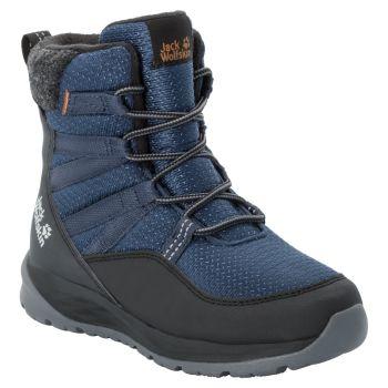 Jack Wolfskin POLAR BEAR TEXAPORE HIGH K, otroški čevlji, modra