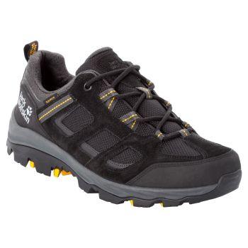 Jack Wolfskin VOJO 3 TEXAPORE LOW M, pohodni čevlji, črna