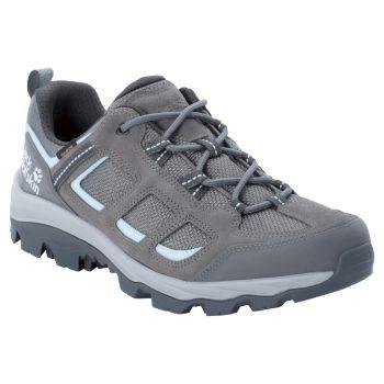 Jack Wolfskin VOJO 3 TEXAPORE LOW W, pohodni čevlji, siva